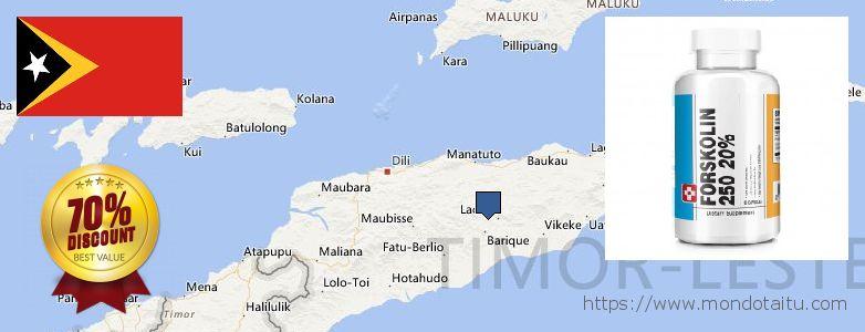 Where to Buy Forskolin Diet Pills online Timor Leste